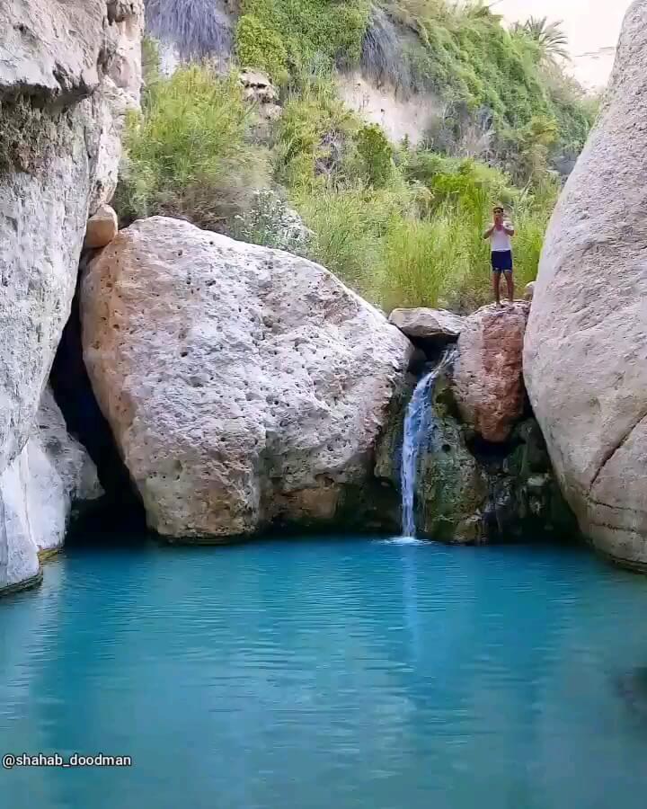 چشمه، تنگه و آبشار کلات عسلویه