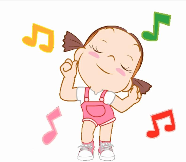 استیکر شادی و رقص و خنده