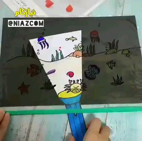 کلیپ آموزش کاردستی جالب برای بچه ها
