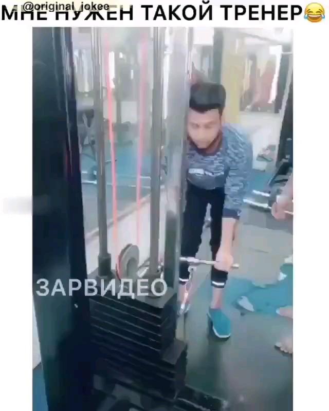 ویدیو خنده دار شوخی در بدنسازی
