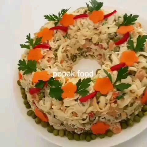 کلیپ آشپزی | طرز تهیه سالاد ماکارونی