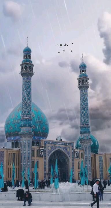 عکس متحرک مسجد مقدس جمکران