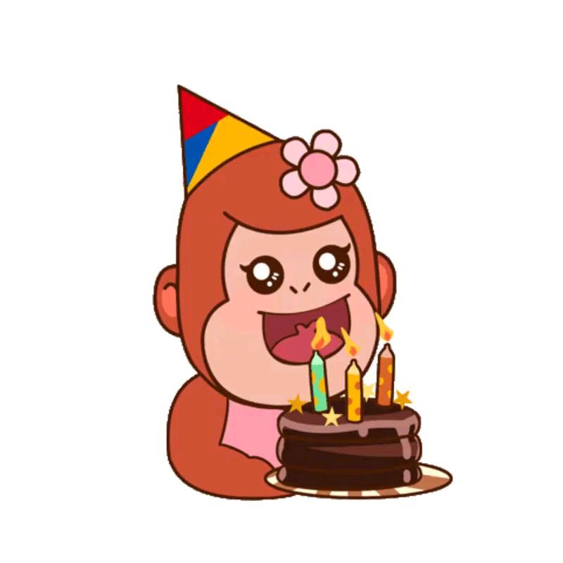 استیکر تولدت مبارک تلگرام