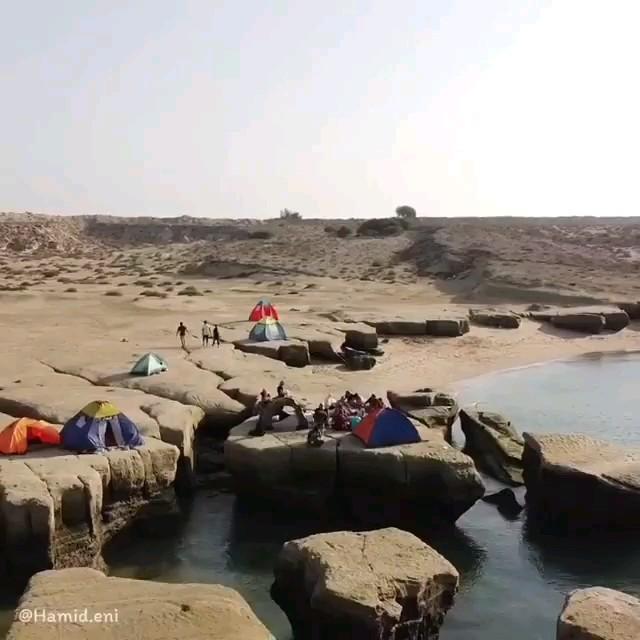 گردشگری جزیره زیبای هنگام