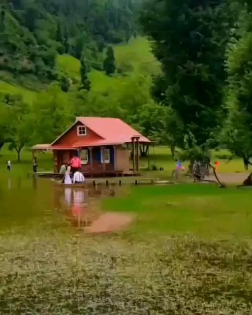 طبیعت زیبای روستای استخرگاه رودبار در گیلان