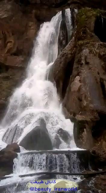 فیلم آبشار آب سفید لرستان