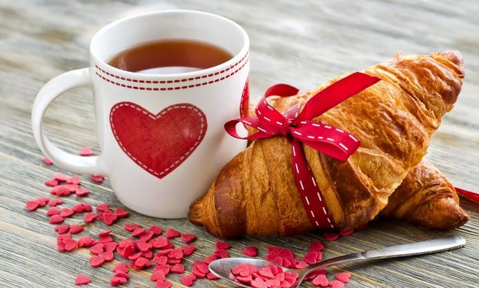 تصویر متحرک صبحانه عاشقانه