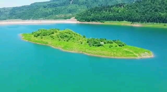 دریاچه سد لفور در دل جنگلهای زیبا و بکر لفور مازندران