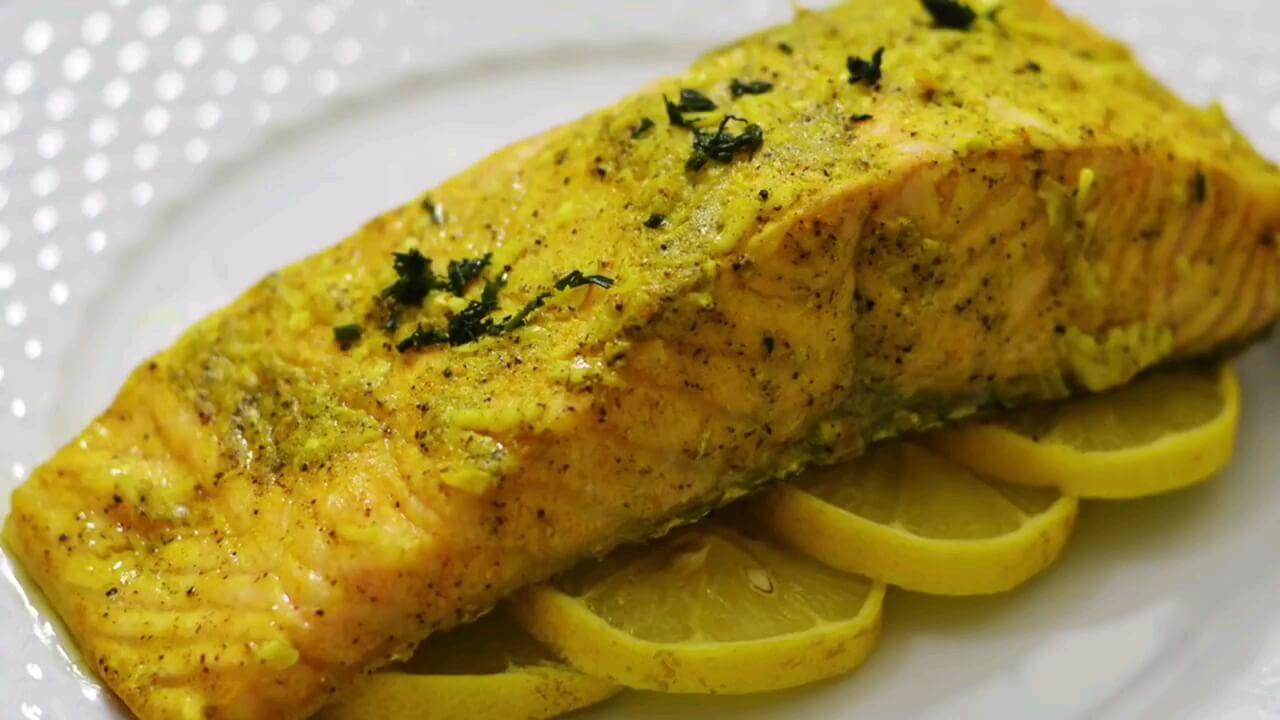 خوشمزه ترین روش تهیه ماهی سالمون گریل در فر