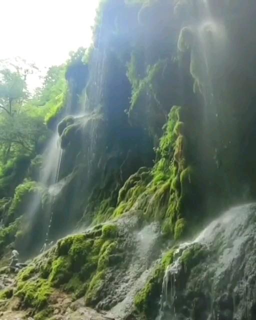 فیلم آبشار بهشت باران گلستان