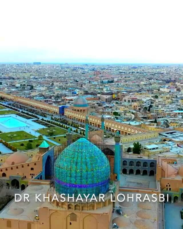 فیلم هلی شات مسجد امام اصفهان