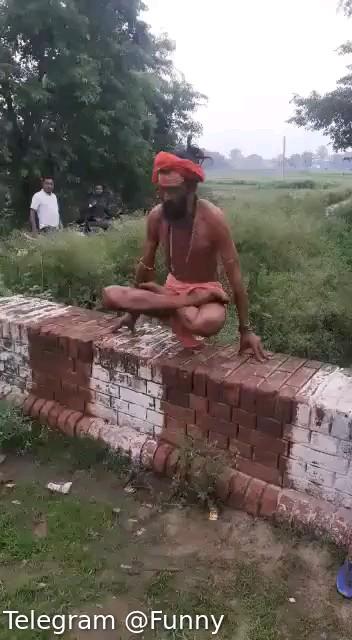 کلیپ خنده دار مرتاض هندی