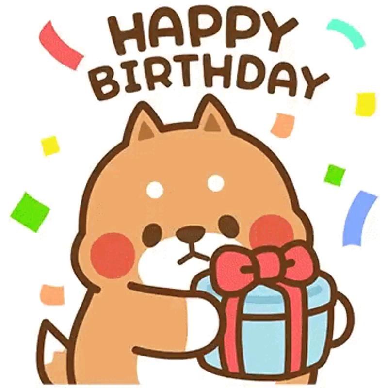 استیکر تولدت مبارک