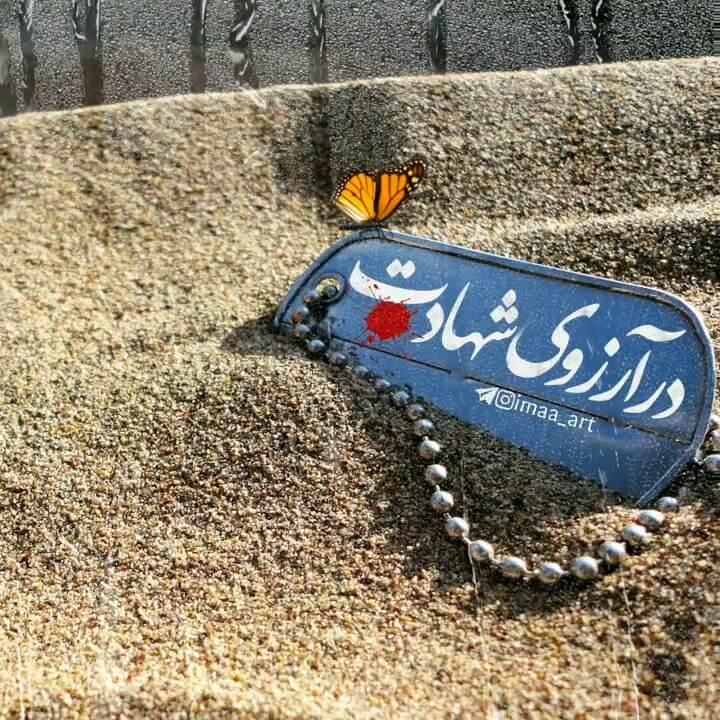 پلاک شهید | در آرزوی شهادت