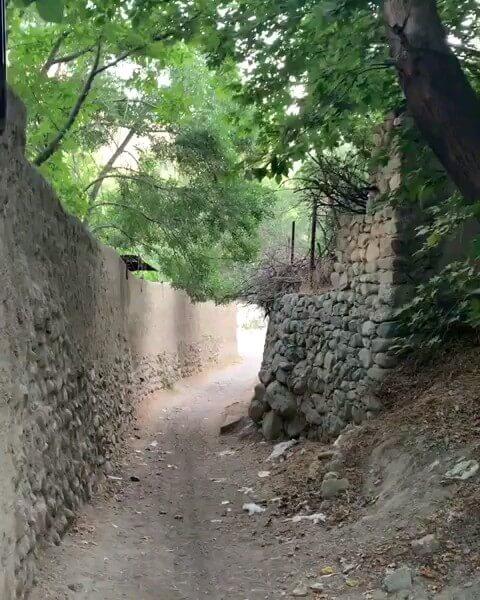 کلیپ بوم گردی کوچه باغات کن تهران