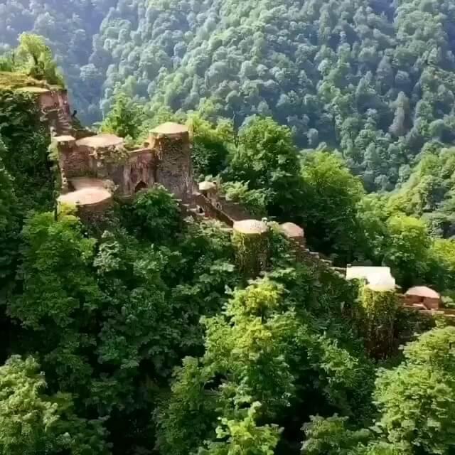 فیلم گردشگری  قلعه رودخان در گیلان