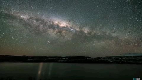 تصاویری از کهکشان راه شیری  و تماشای آن از زمین